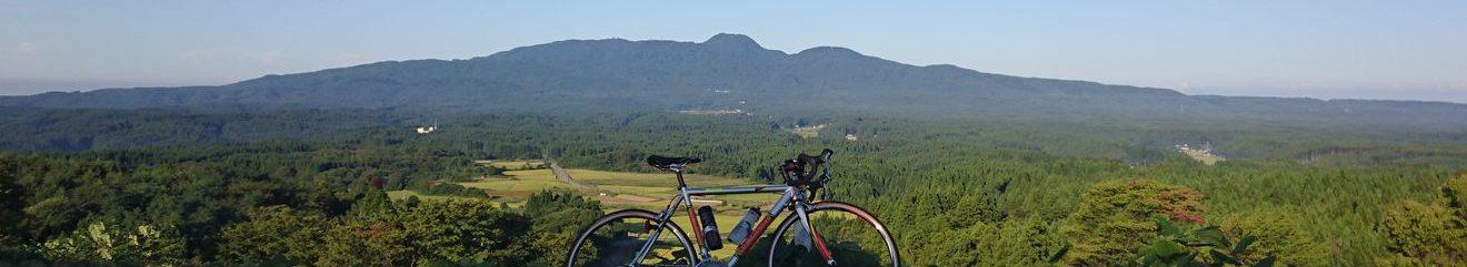 田舎のサイクリスト